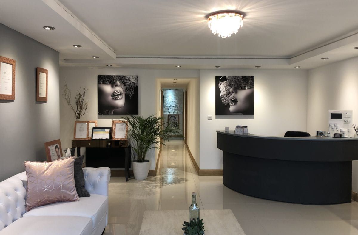 Aesthetics Clinic Leeds Interior